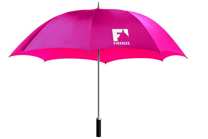 ombrello con logo