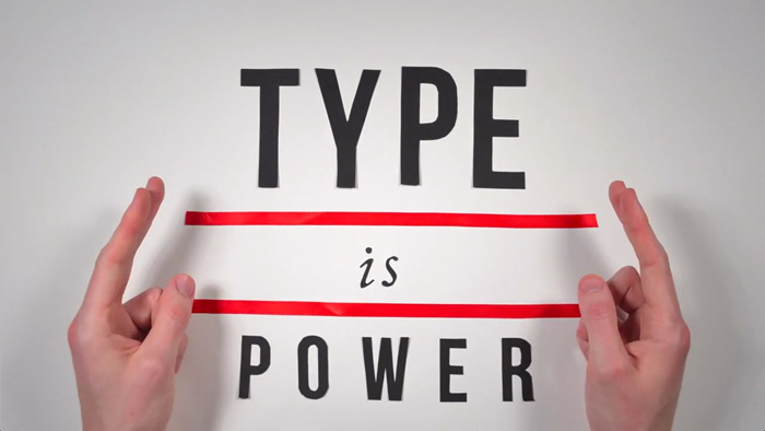 The History of Typography - Type is Power