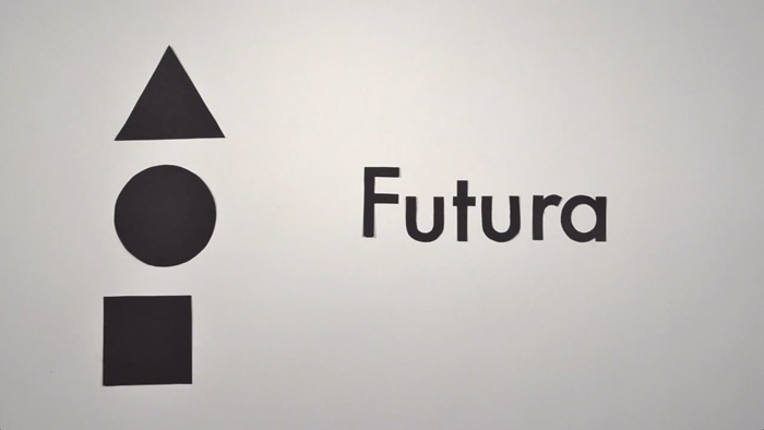 The History of Typography - Il futura