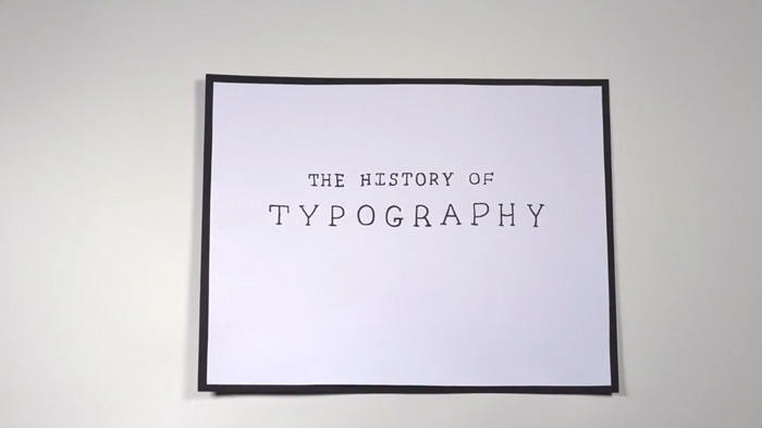 The History of Typography - Diemmedi