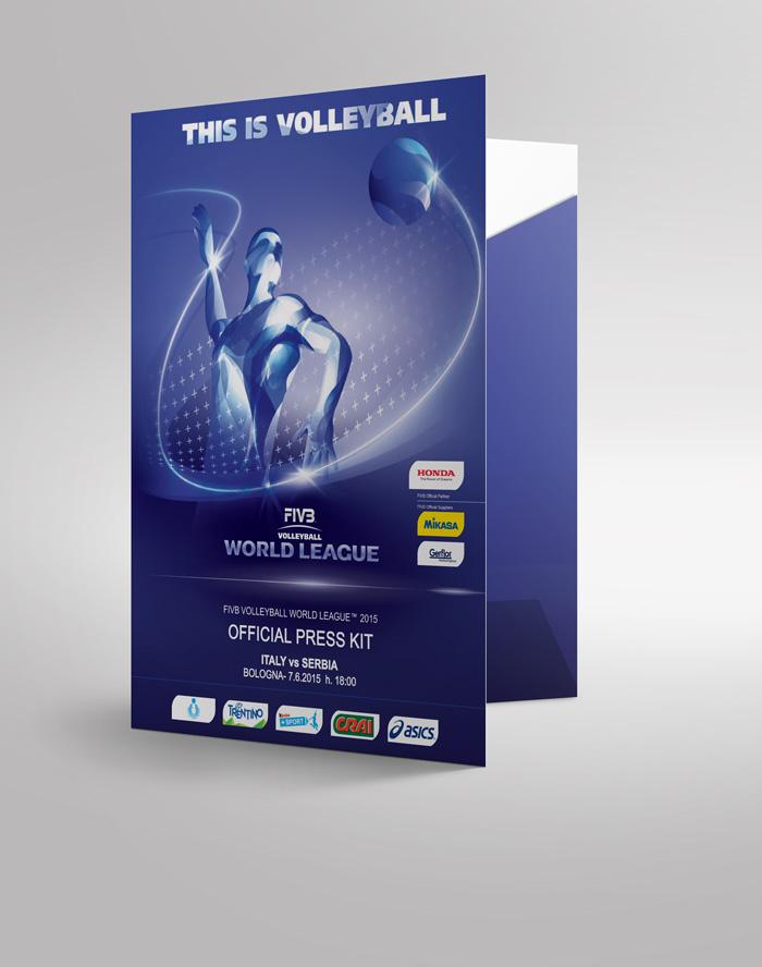 realizzazione cartella world league 2015