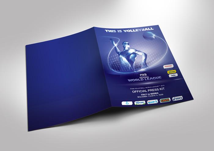 realizzazione immagine coordinata world league 2015